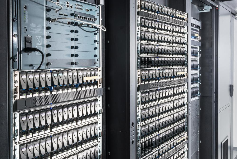 Information technology specialists can handle issues related to corporate servers.