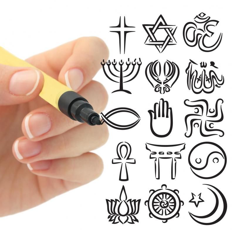 The Study of humanities can include the study of world religions.
