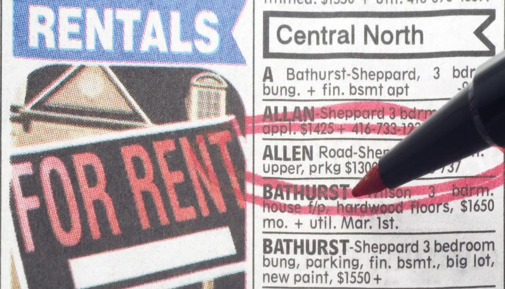 Realtors are responsible for creating property listings that can be advertised in local newspapers.
