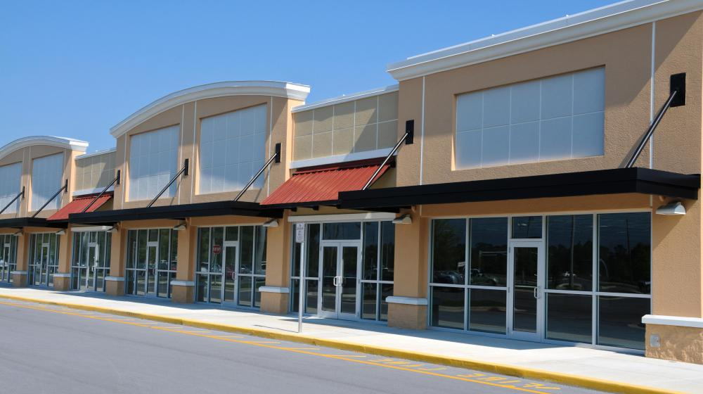 The development of a strip mall is one kind of project a commercial developer may undertake.