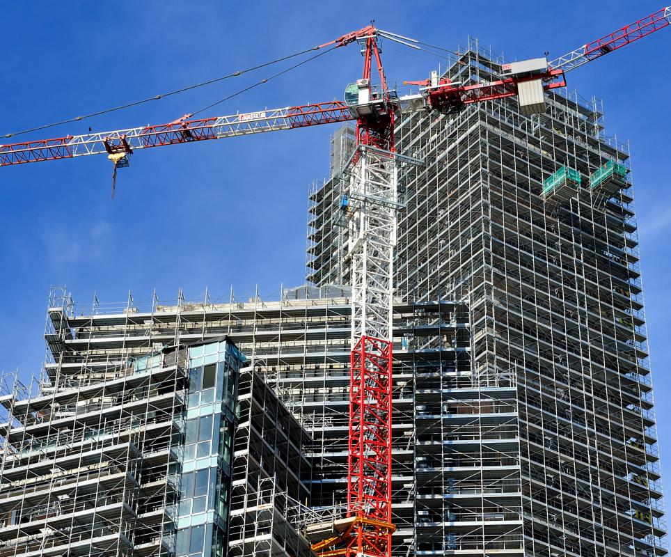 Most construction engineers specialize in one type of structure, like skyscrapers or highways.