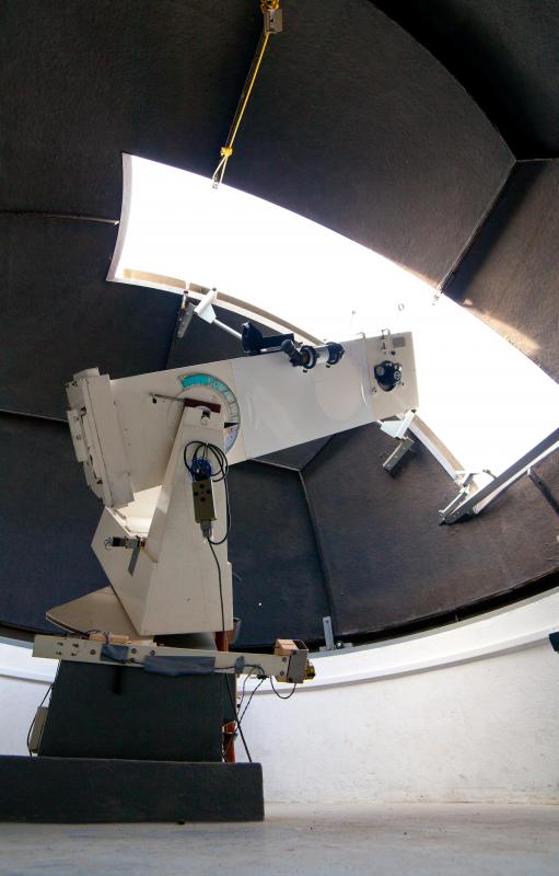Astronomers use both optical and radio telescopes to observe stars, planets, asteroids, and other celestial phenomena.