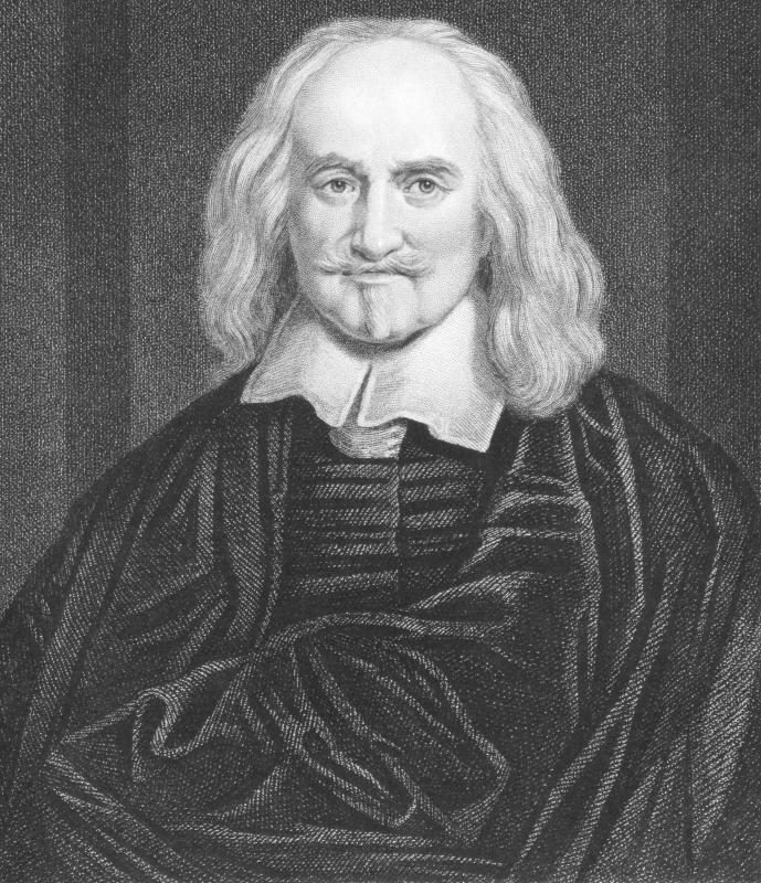 Thomas Hobbes built on the work of the Greeks in his theories of natural law, or the perceived natural order of justice.