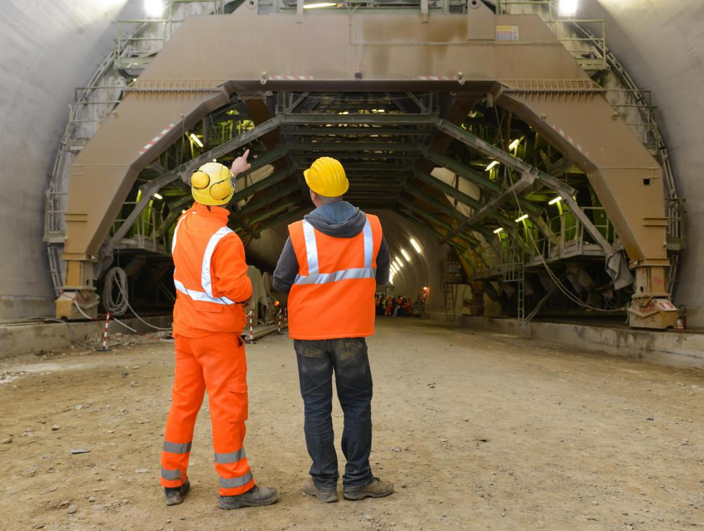Structural engineers often work with civil and traffic engineers to design and build tunnels and bridges.