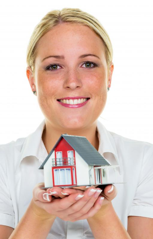 Real estate agents are licensed by the state, generally after taking classes and passing an exam.