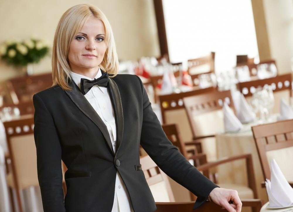 A hotel steward is in charge of dining operations for hotel restaurants.