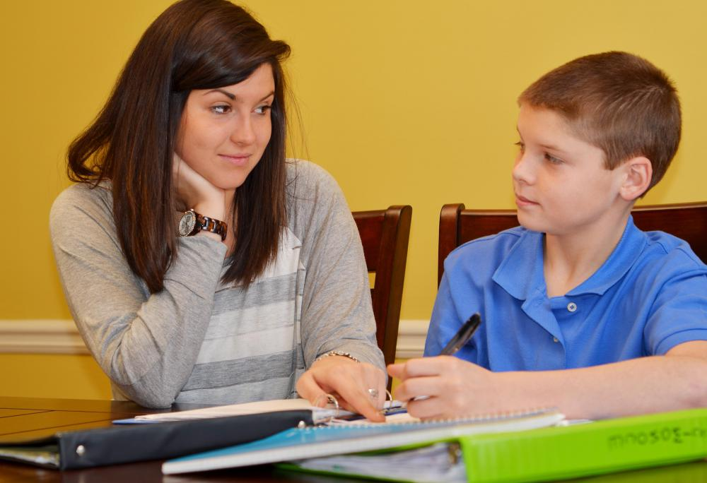 College professors may spend extra time tutoring younger students.