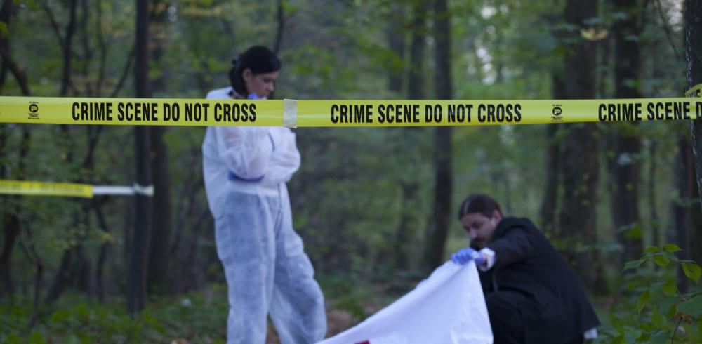 While in the field, a crime scene investigator will secure the crime scene to ensure that no evidence is compromised.