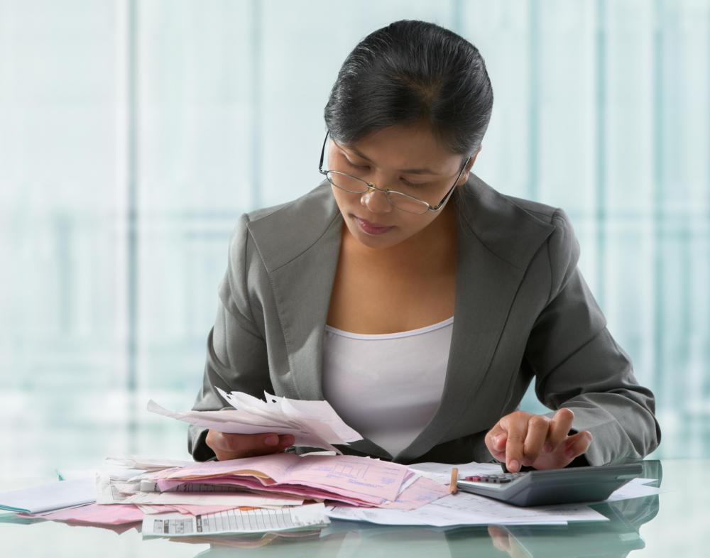 A certified tax accountatnt might specialize in auditing as a full-time occupation.