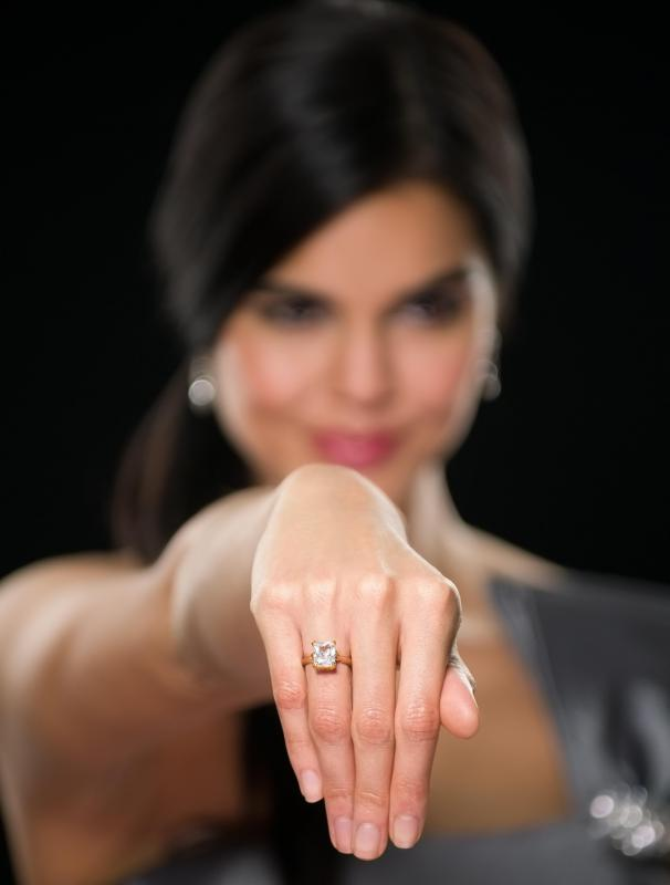 A jeweler may evaluate diamonds based on their cut, clarity, color, and carat.