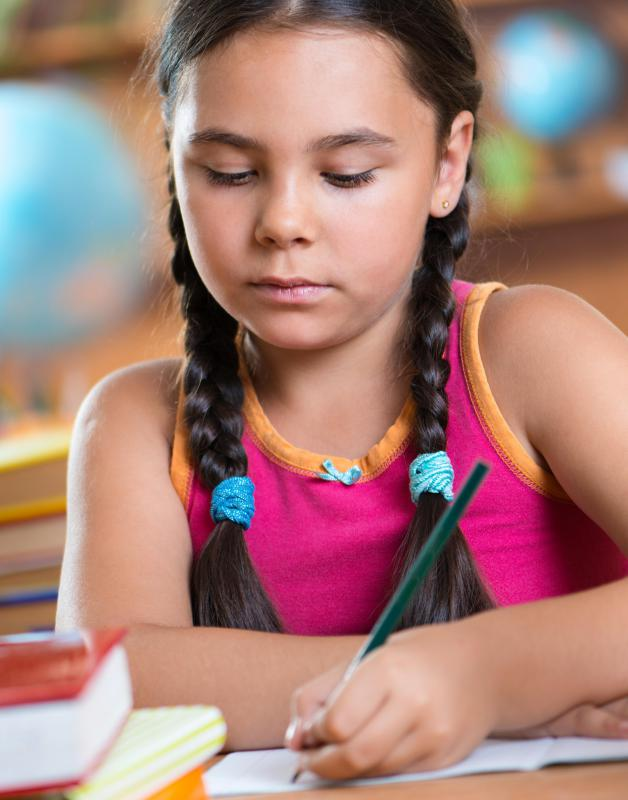 Children may enjoy creative writing as a way to express themselves.