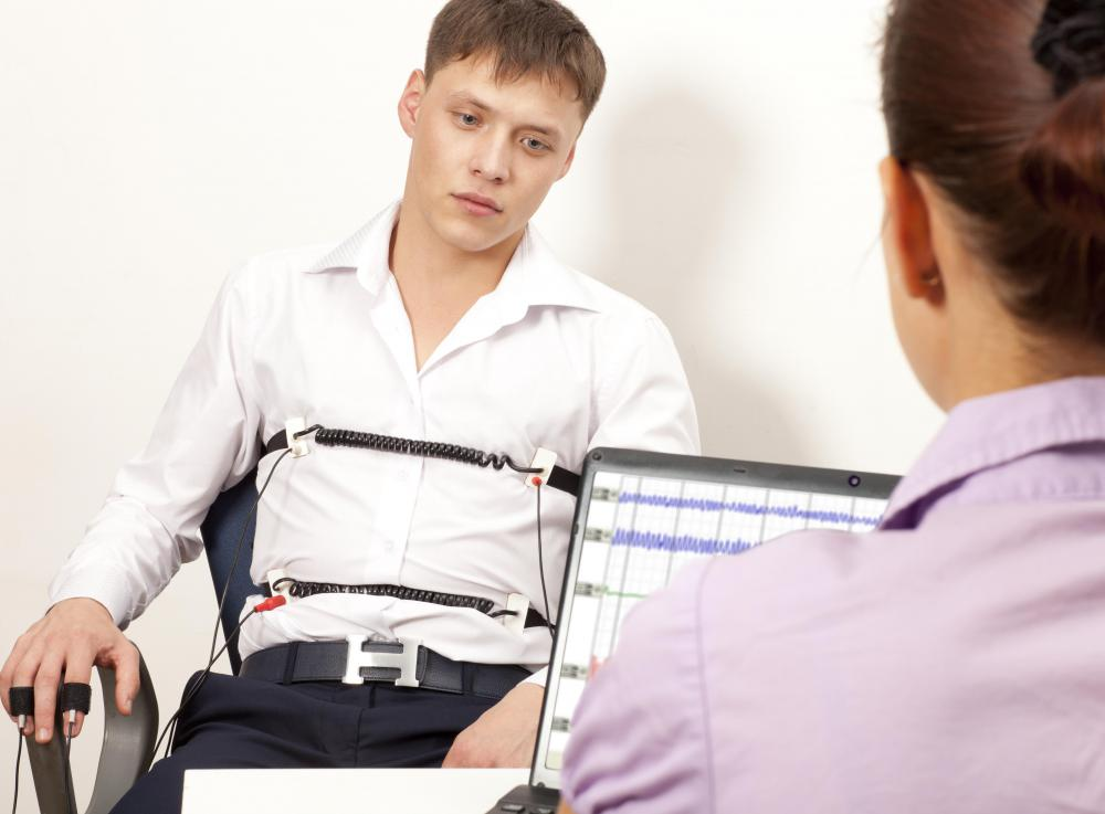 A lie detector test is required to be considered for employment with the FBI.
