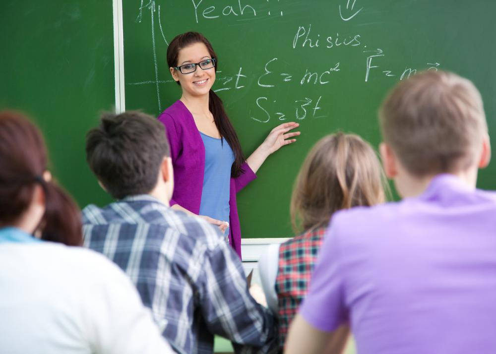 An individual may obtain academic qualifications in order to become a teacher.
