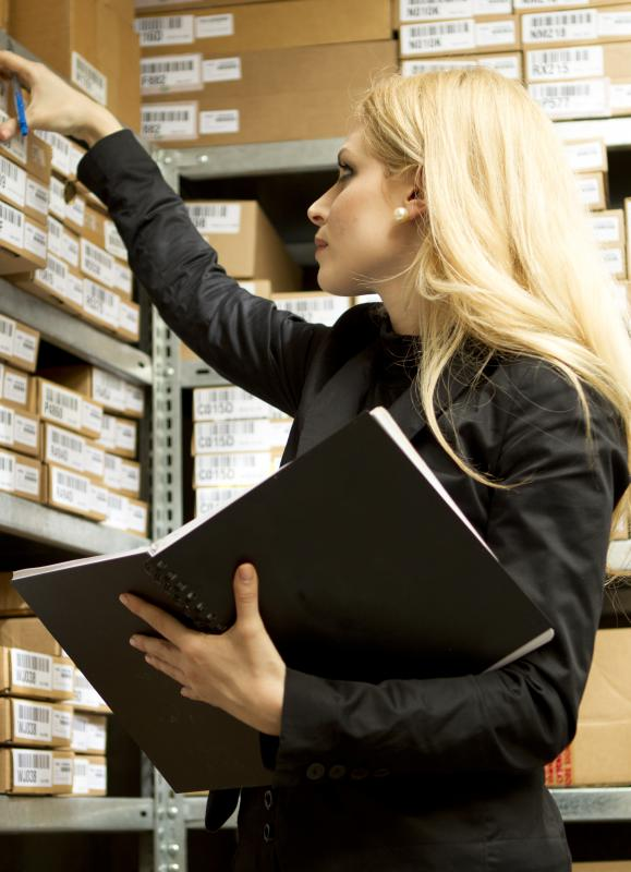 Keeping track of inventory is part of materials management.